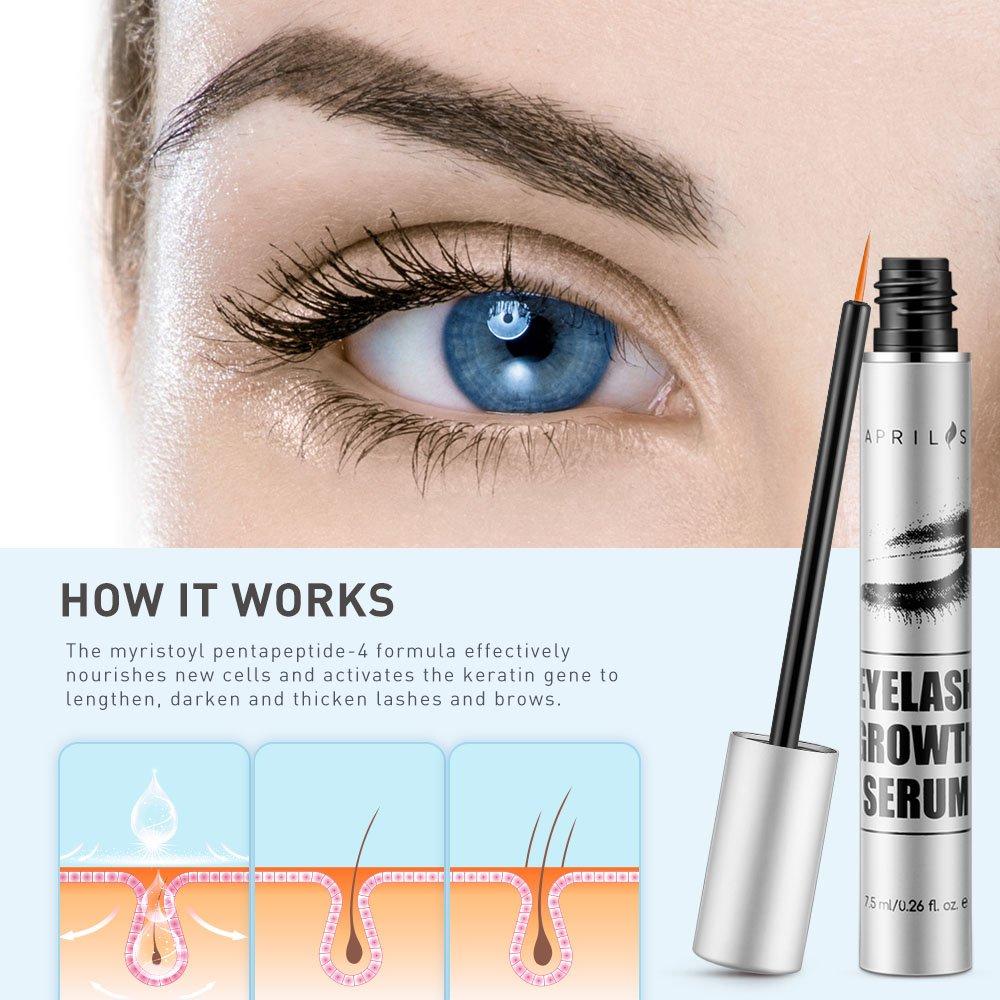 Amazon Natural Lash Growth Serum 75ml Eyelash Growth Enhancer