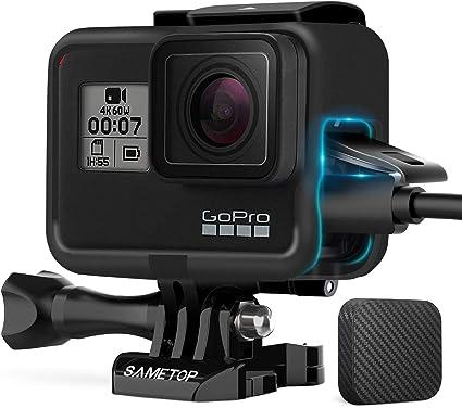 Amazon.com: Sametop - Carcasa para cámaras GoPro Hero 7 ...
