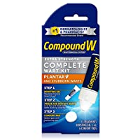Compound W Complete Wart Kit | Freeze Off Plantar Wart Removal | 15 Treatments (...