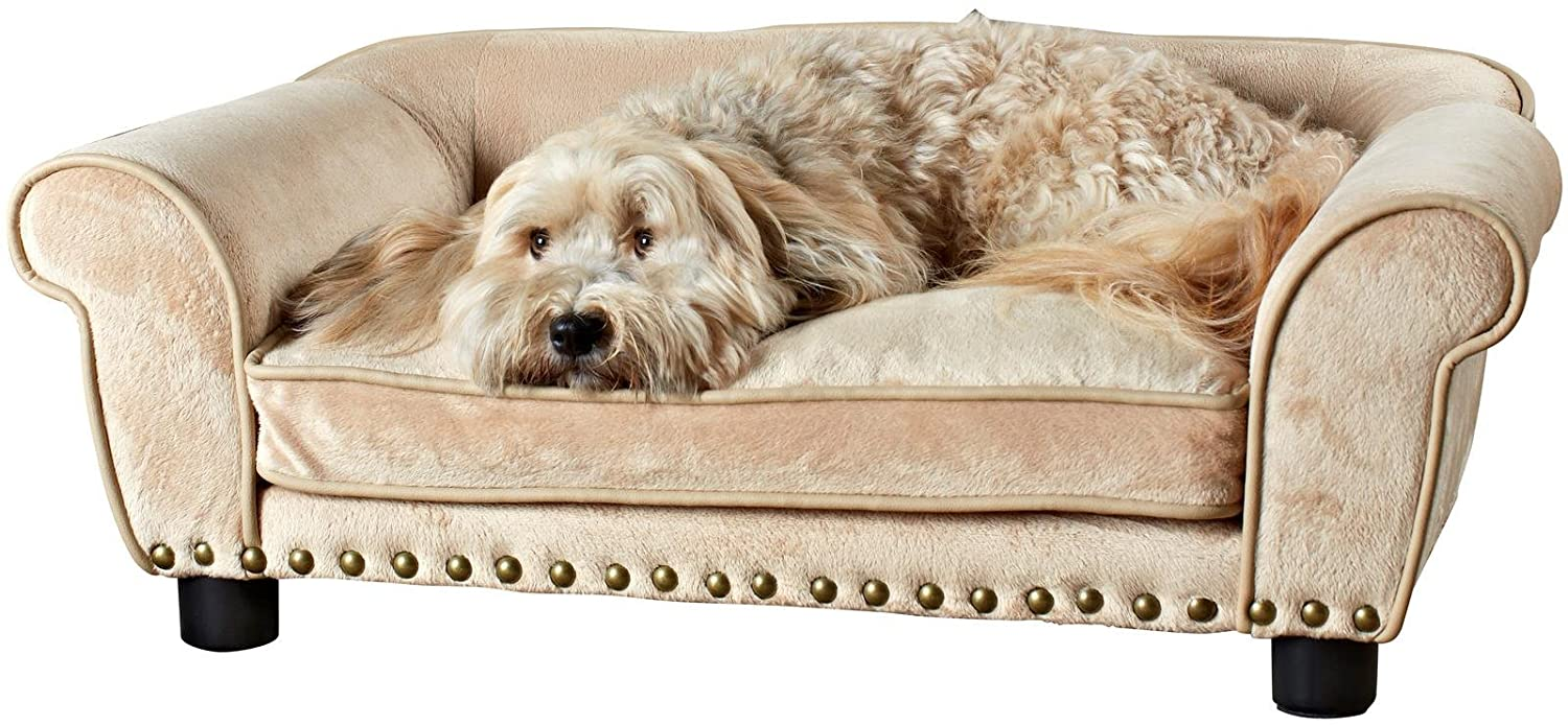 Couch Style Dog Bed - Medium Dogs upto 30lbs