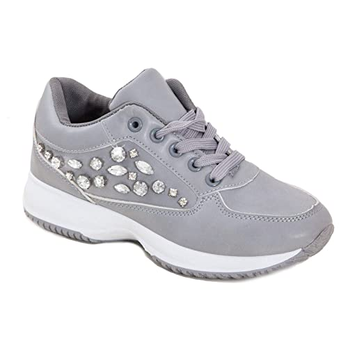 new style 3f407 9c9eb Toocool - Sneakers Donna Scarpe Eco Pelle Strass OM-120 ...