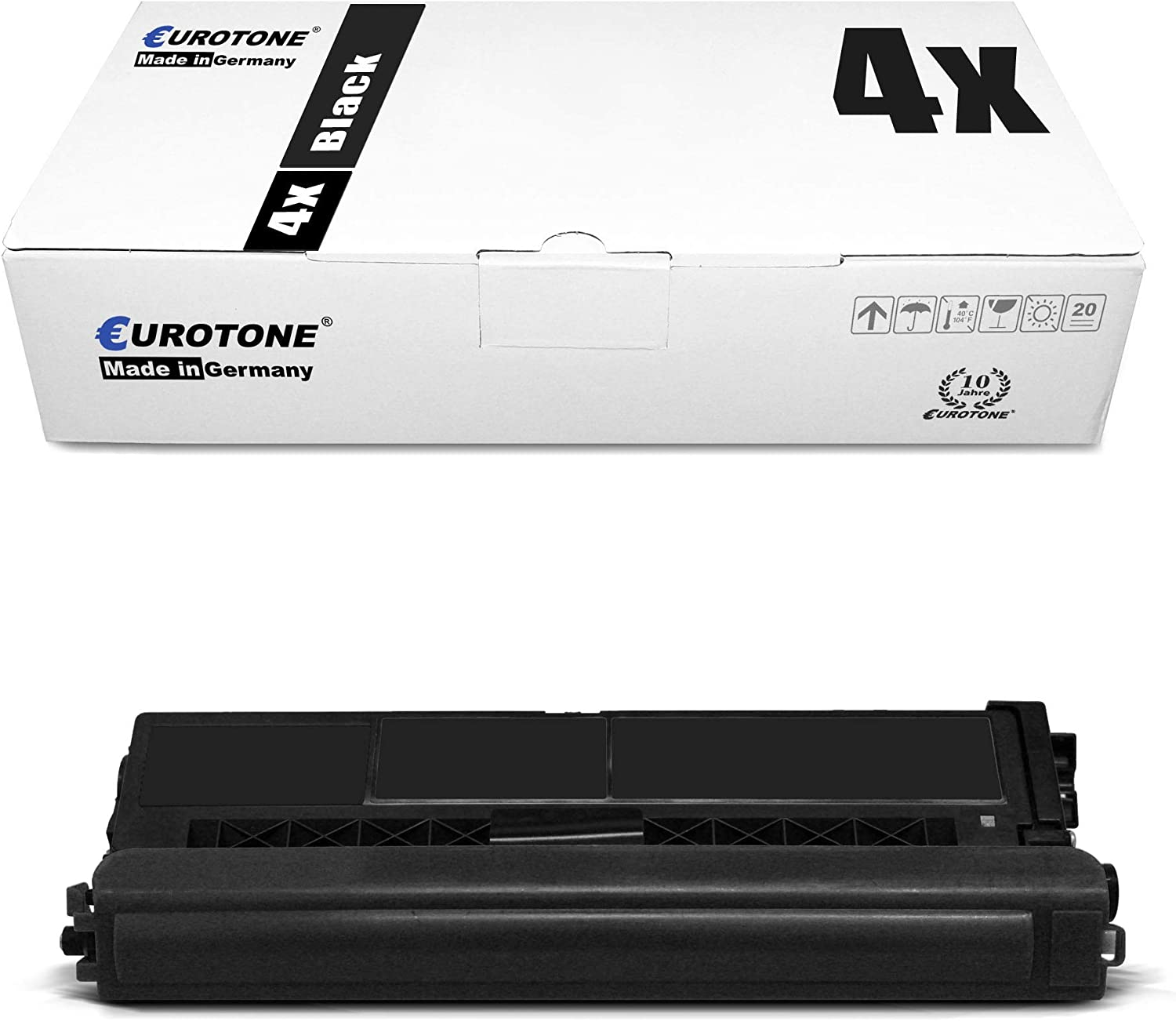 8X Eurotone Toner for Brother MFC-L 8900 Replaces TN-426 TN426 Set Black Cyan Magenta Yellow