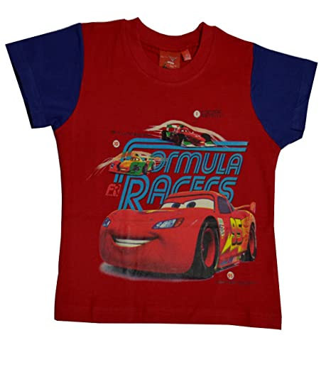 Amazon.com  Disney Pixar Cars Boys Short Sleeve T-Shirt Age 2 a7732221d