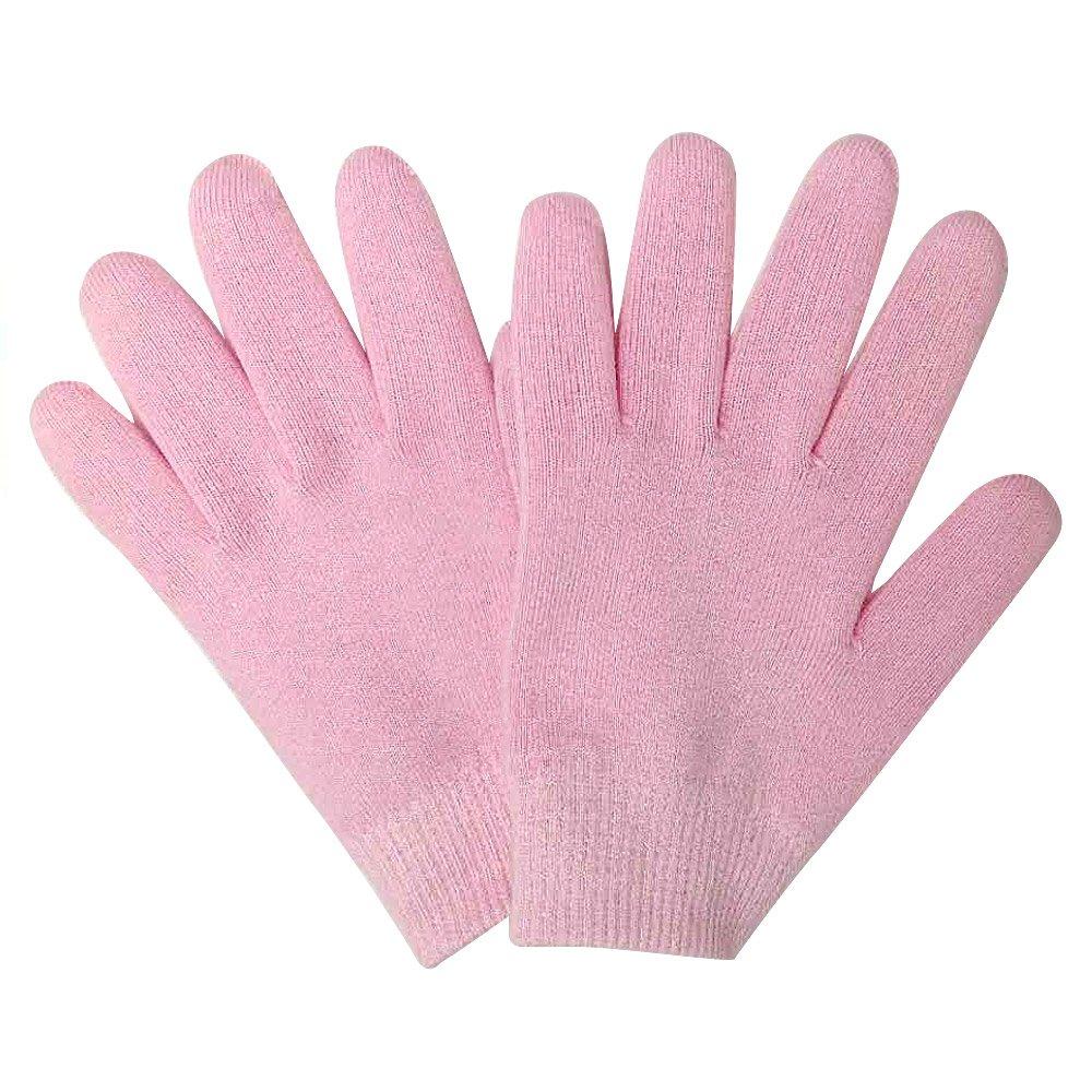 Gel Moisturizing gloves Hand Eczema For Women Man Kids- Pink Color