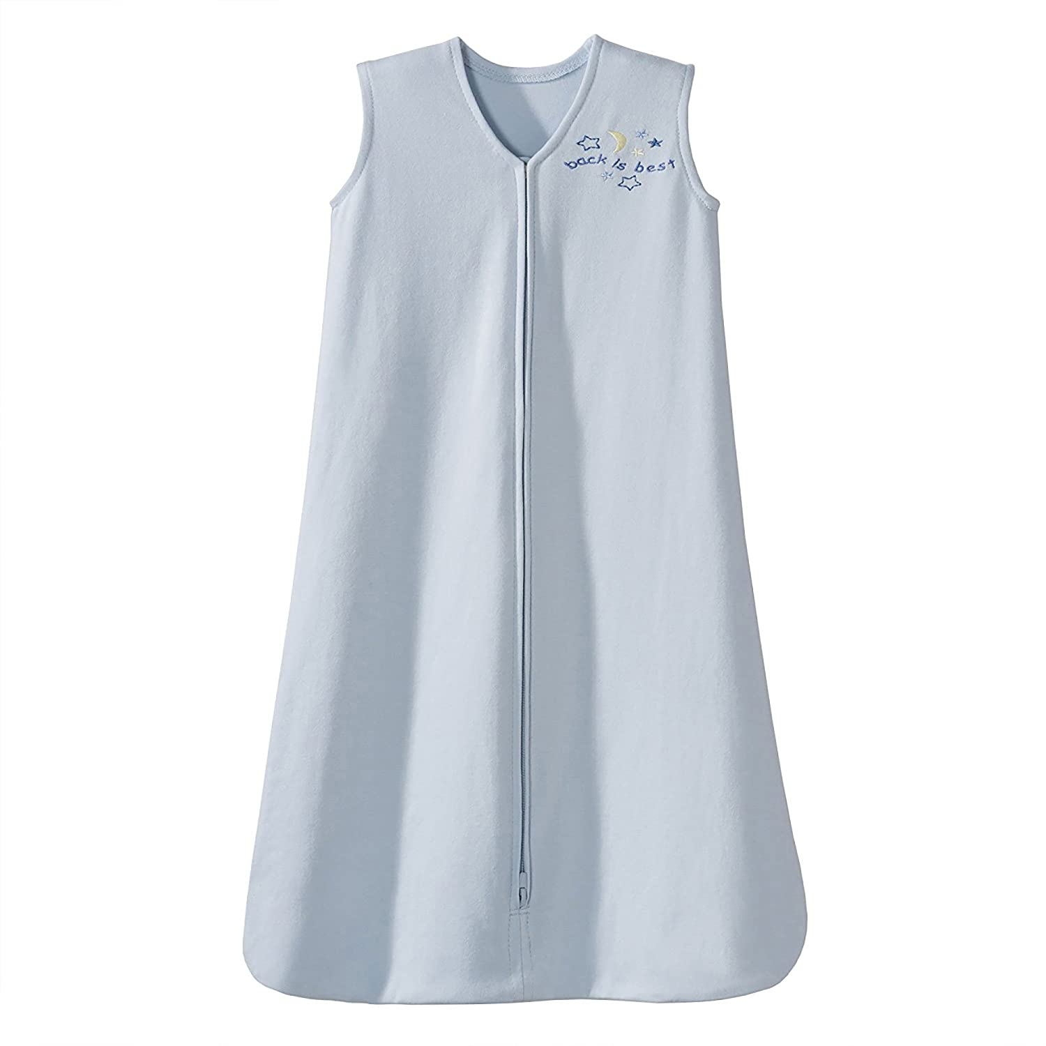 B00008KWO5 HALO Sleepsack 100% Cotton Wearable Blanket, Baby Blue, Medium 71R9IUX791L