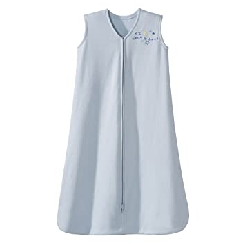 online store 6c274 172fb HALO Sleepsack 100% Cotton Wearable Blanket, Baby Blue, X-Large