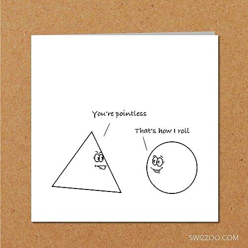 Fun Greeting Card For Teacher Student Professor Teen Math