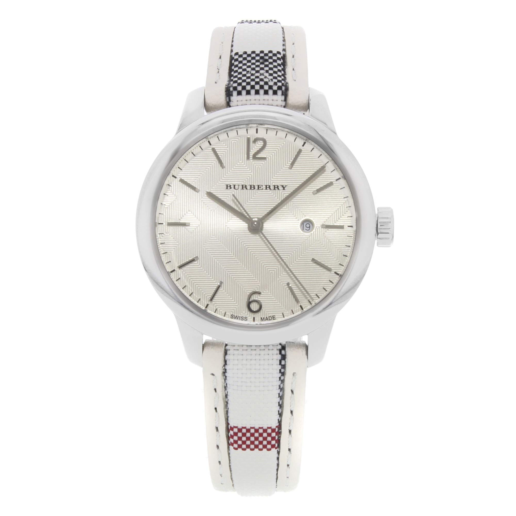 Burberry The Classic Round Quartz Female Watch BU10113 (Certified Pre-Owned)