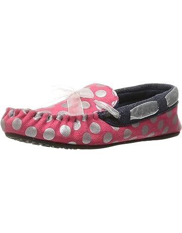 67b6f0293524 Trimfit Kids Girls Sparkle Dots Mocassin Shoe Moccasin