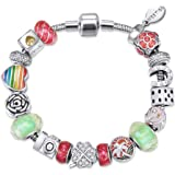MESTIGE Women Crystal Psychedelic Bracelet with Swarovski Crystals