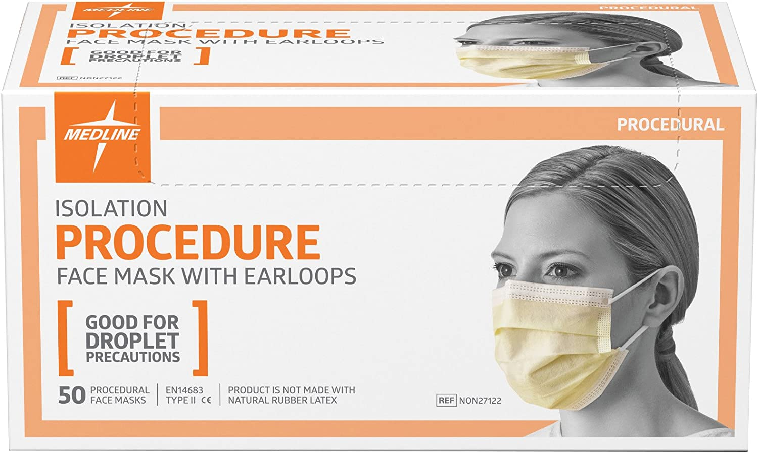 medline surgical face mask