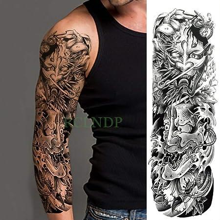 5pcs Impermeable Etiqueta engomada del Tatuaje de la Flor del ...