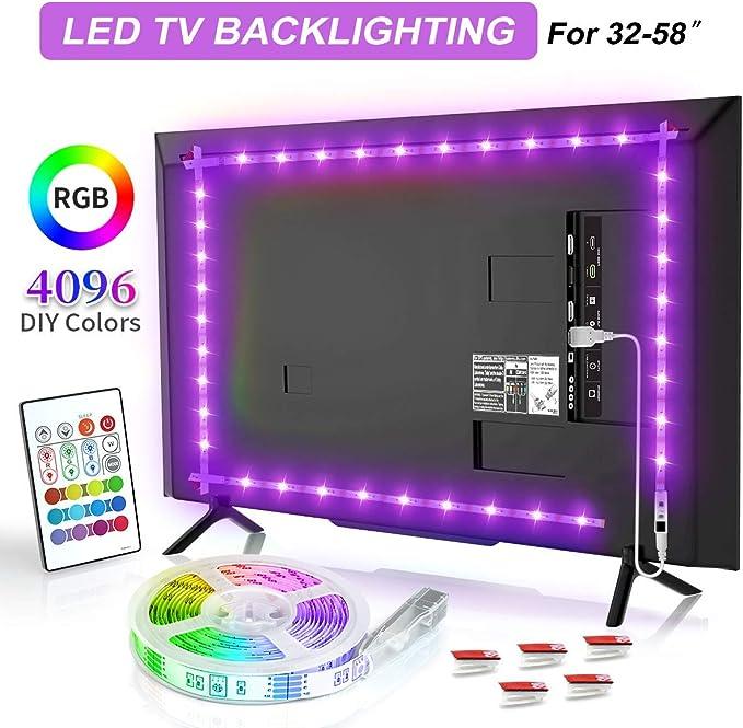 BASON USB LED TV Backlight Kit de 60 a 70 pulgadas, Bias ...