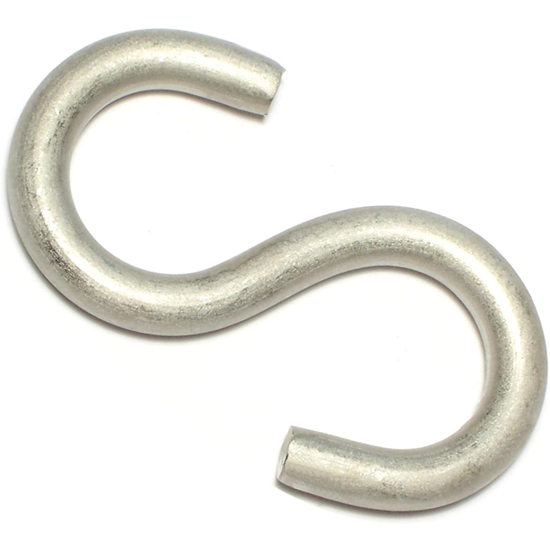 Hard-to-Find Fastener 014973207168 Large WireS Hooks Piece-10 1-3//4