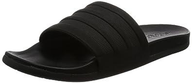 adidas adilette CF mono Schwarz Schwarz Schwarz Schuhe