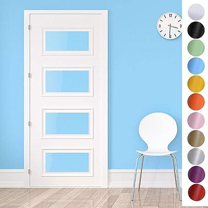 0,61 x 5 m impermeabile Kinlo in PVC di alta qualit/à autoadesiva TV per soggiorno Pellicola adesiva per mobili da cucina