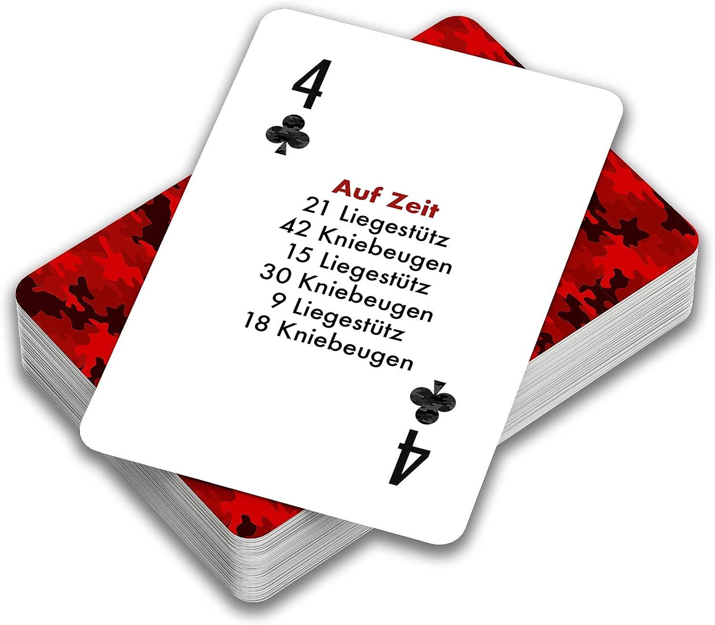 MILFIT Pumping Poker Sport Kartenspiel