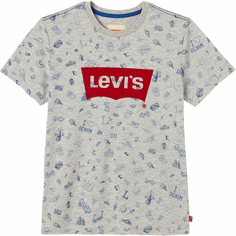 Levis SS tee Flockwin Camiseta para Niños: Amazon.es: Ropa y accesorios