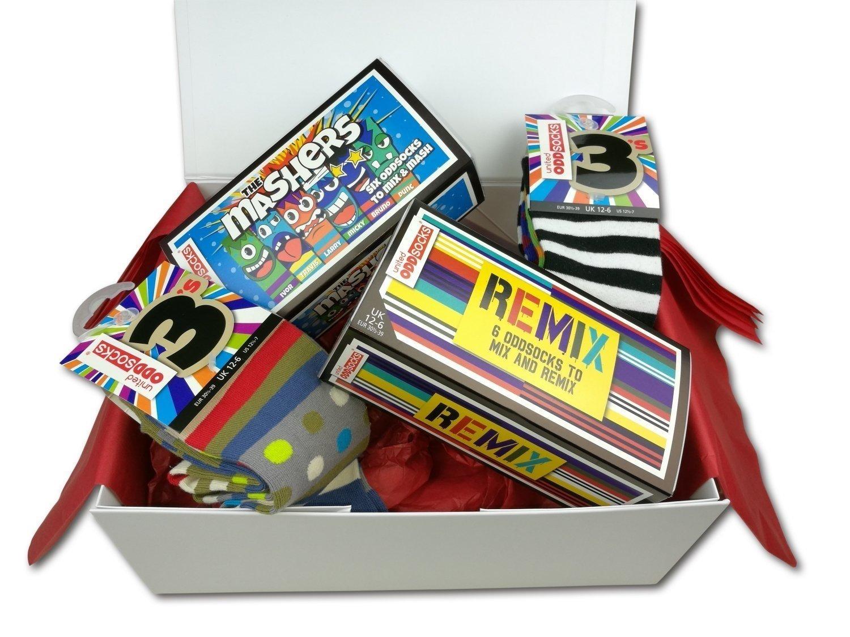United Oddsocks - Boy Socks - Limited Edition Oddsocks Hamper Gift For Boys