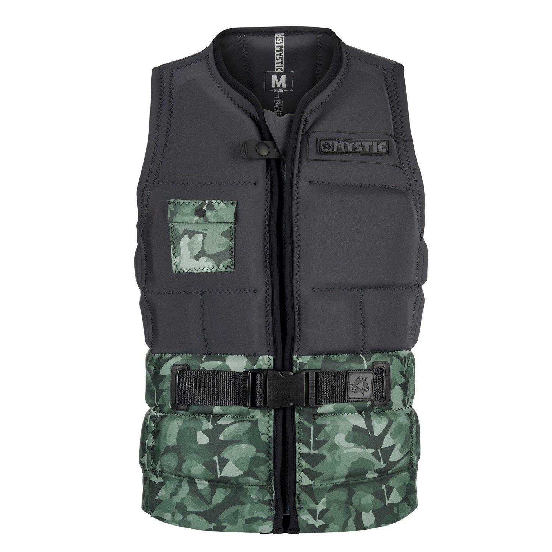 華麗 2018 Mystic Shred ExtraLarge Impact Vest Front Vest Zip Allover Green Allover 180146 B0794YCVWP ExtraLarge, 男の台所:240b23b9 --- arianechie.dominiotemporario.com