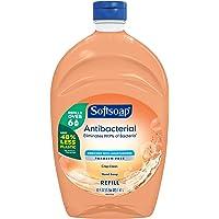 Softsoap Antibacterial Liquid Hand Soap Refill, Crisp Clean, 1.47 Liter