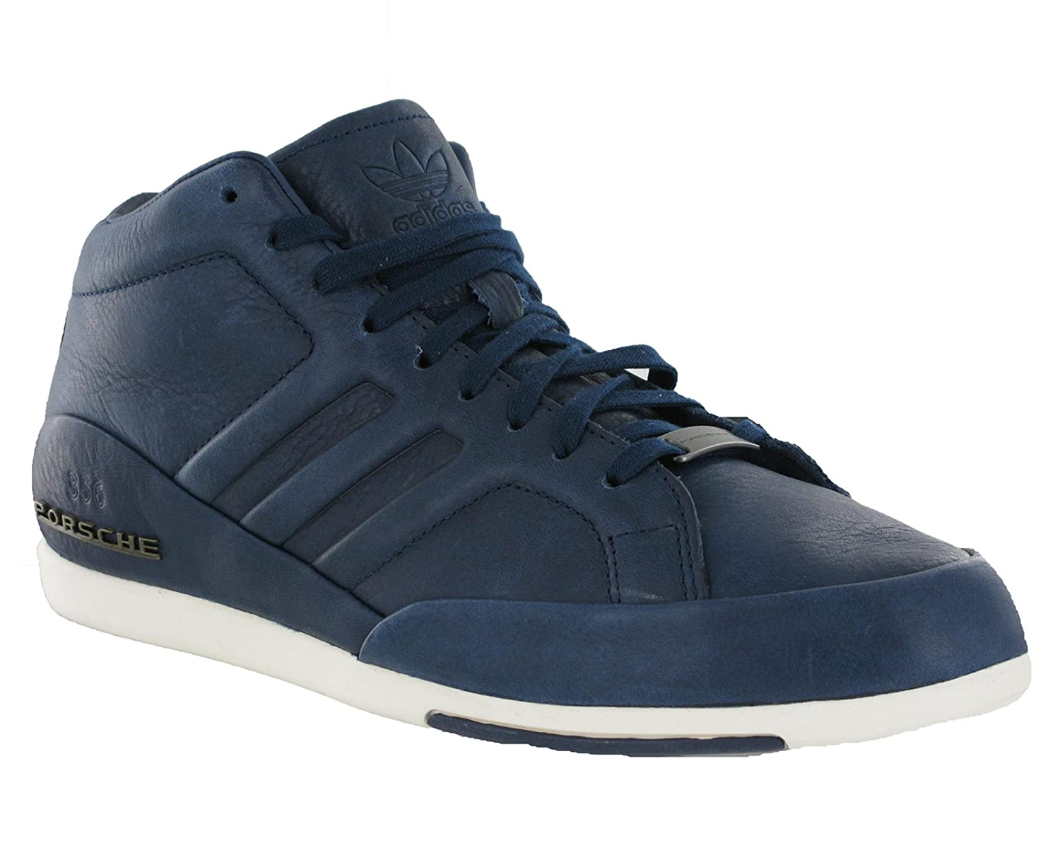 separation shoes 206f1 c6268 adidas Mens Originals Porsche 356 Mid Navy Casual Fashion Smart Trainers  Shoes (UK 8)  Amazon.co.uk  Shoes   Bags