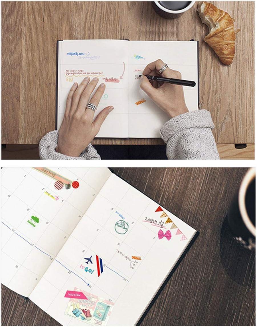 Miraculous Ladybug Miraculous Ladybug Planner Diary Journal Monthly Calendar Journal Miraculous Ladybug 1PCS /& Black Cat Noir 1PCS
