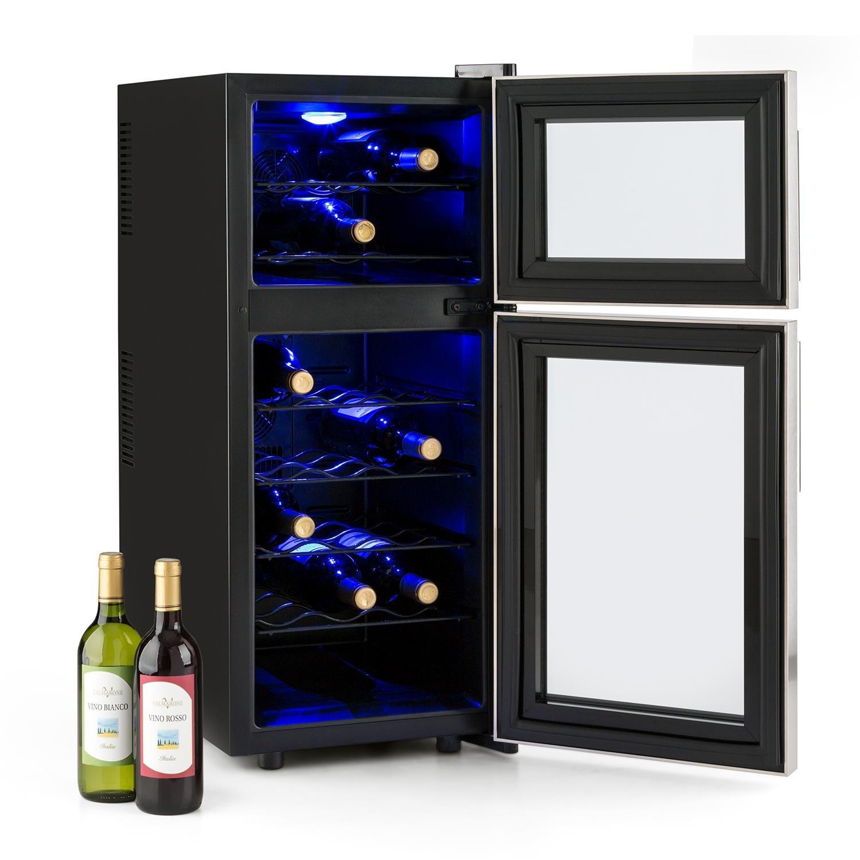 Klarstein Reserva 21 - Nevera para vinos, Nevera para bebidas, 56 ...