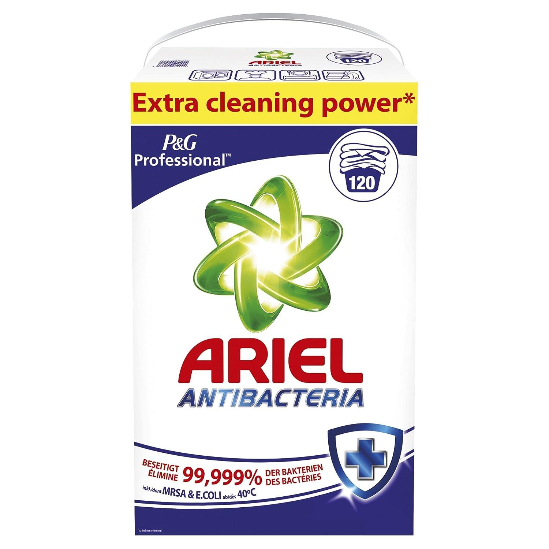 Ariel Professional lessive antibactérienne en poudre 7,8 kg, 120 lavages: Amazon.fr: Commerce, Industrie & Science