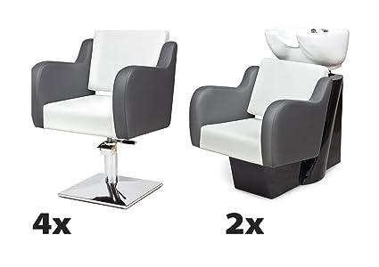 Kit mobili per parrucchieri nuvola 4 x poltrona parrucchiere 2 x
