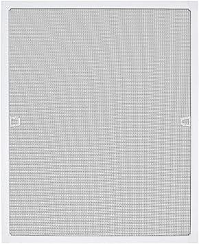 Aufun 80 x 100 cm Fliegengitter Fenster Fliegenschutz Insektenschutz Fliegengittert/üren mit Aluminium Rahmen ohne Bohren und Schrauben f/ür Fliegenschutz Moskitonetz Spannrahmen Wei/ß