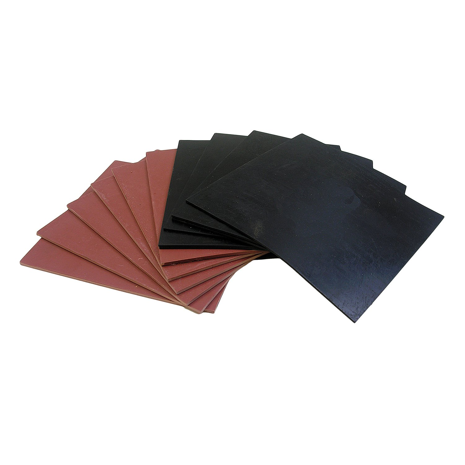 LASCO 02 1048 Rubber Sheets 6 Inch X 6 Inch 12 Pack