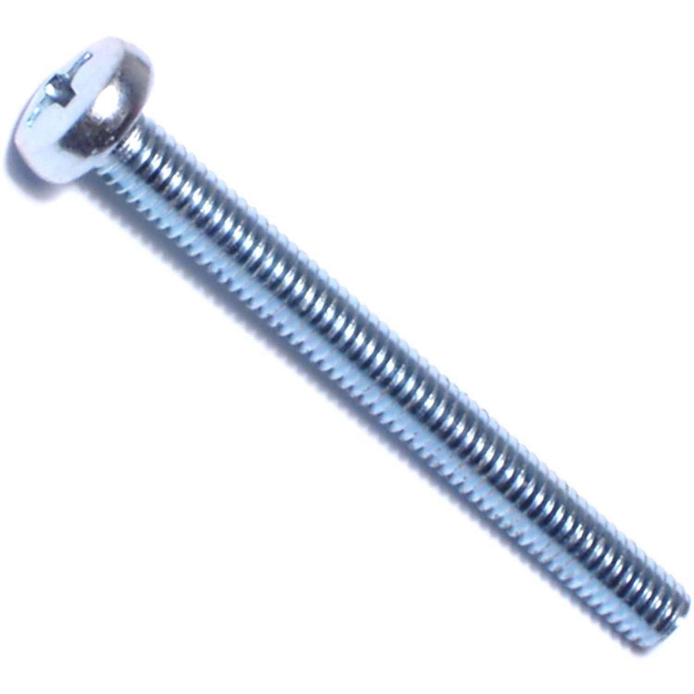 Hard-to-Find Fastener 014973280017 Phillips Pan Head Machine Screws 4mm-0.70 x 30mm Piece-50
