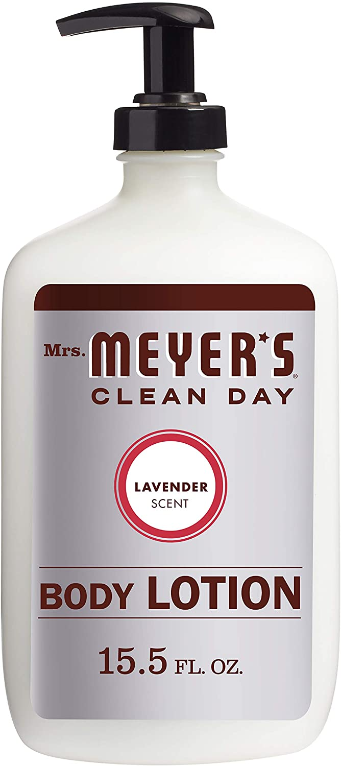 Mrs. Meyer's Clean Day Body Lotion, Lavender Scent, 15.5 Ounce Bottle