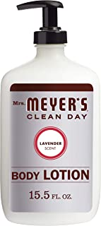product image for Mrs. Meyer's Clean Day Body Lotion, Long-Lasting, Non-Greasy Moisturizer, Cruelty Free Formula, Lavender Scent, 15.5 oz