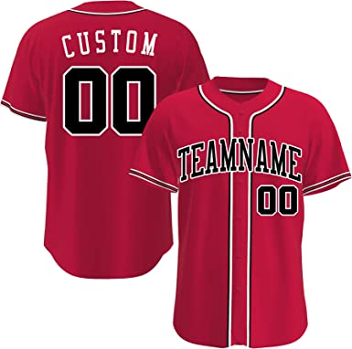 Custom Baseball Jerseys Personalized Retro Basketball Crossover Baseball Shirts for Mens Womens Youth