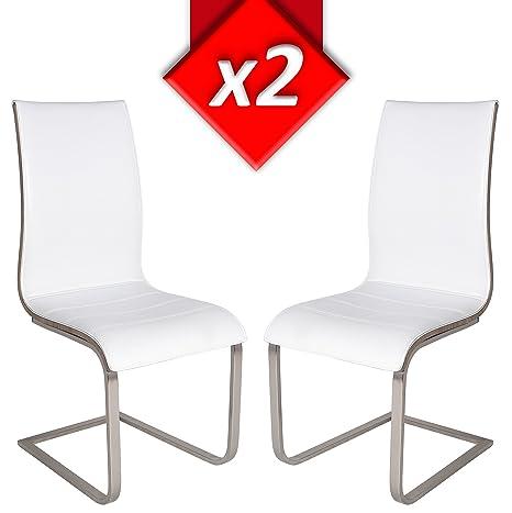 VS Venta-stock Pack 2 sillas tapizadas de salón Sevilla ...