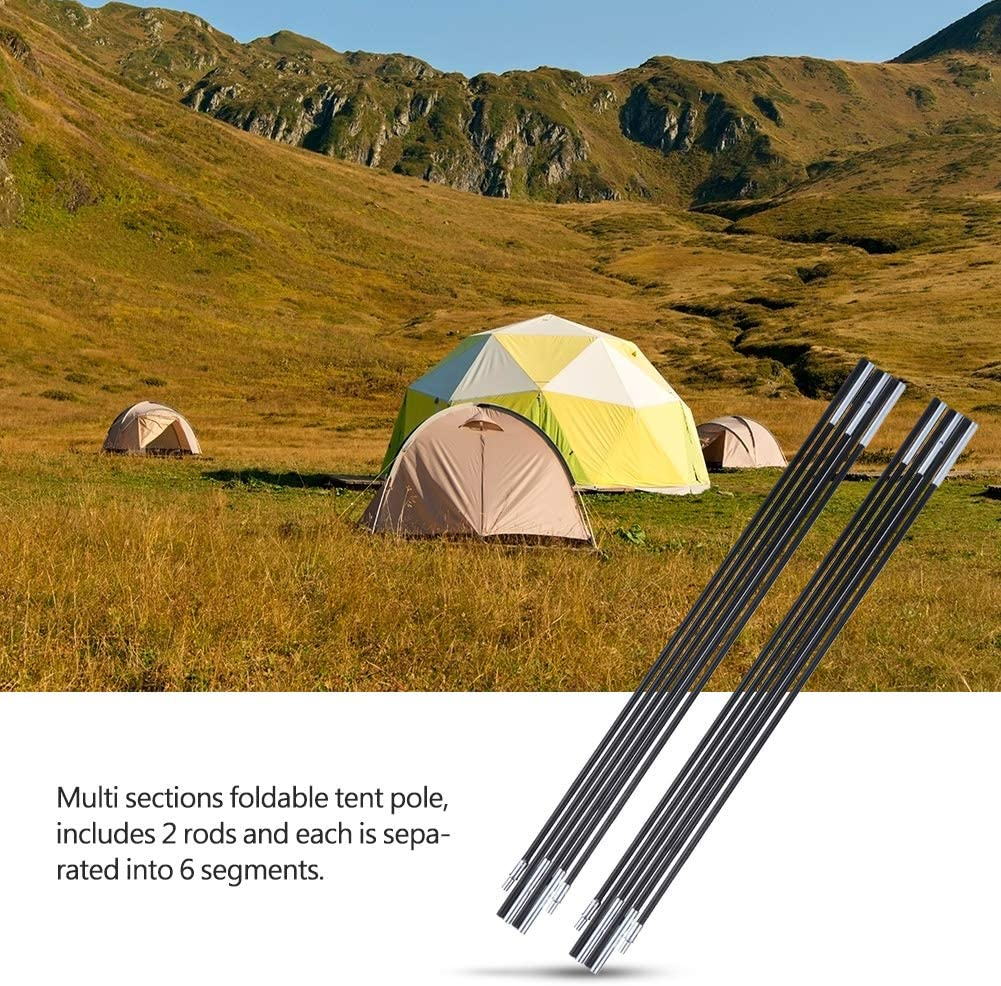 Multifunction Tent Poles Rod Zerone Aluminum Rod Tent Pole Replacement Accessories