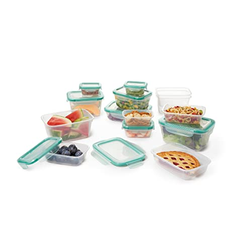 OXO Good Grips 28 Piece SNAP Leakproof Food Storage Container Set