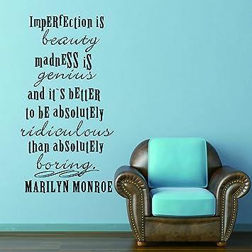 Wallsup Citation Anglais Imperfection Is Beauty Il De