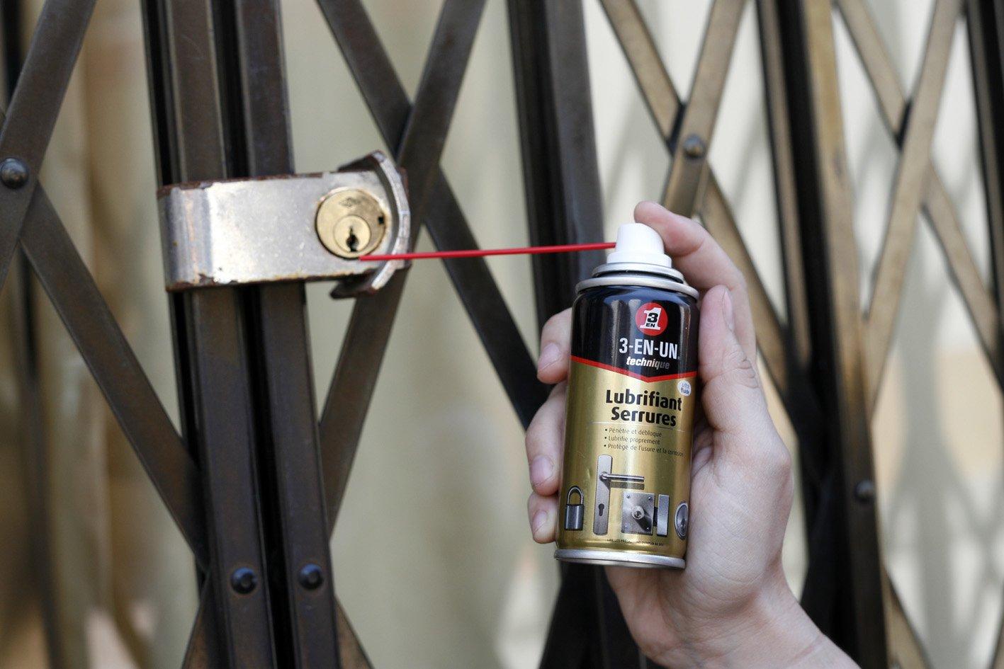 3 EN UNO Profesional 3-EN-UNO Profesional Lubricante de Cerraduras 100ml. Funciona mejor que el grafito ¡Compruébalo!: Amazon.es: Industria, empresas y ...