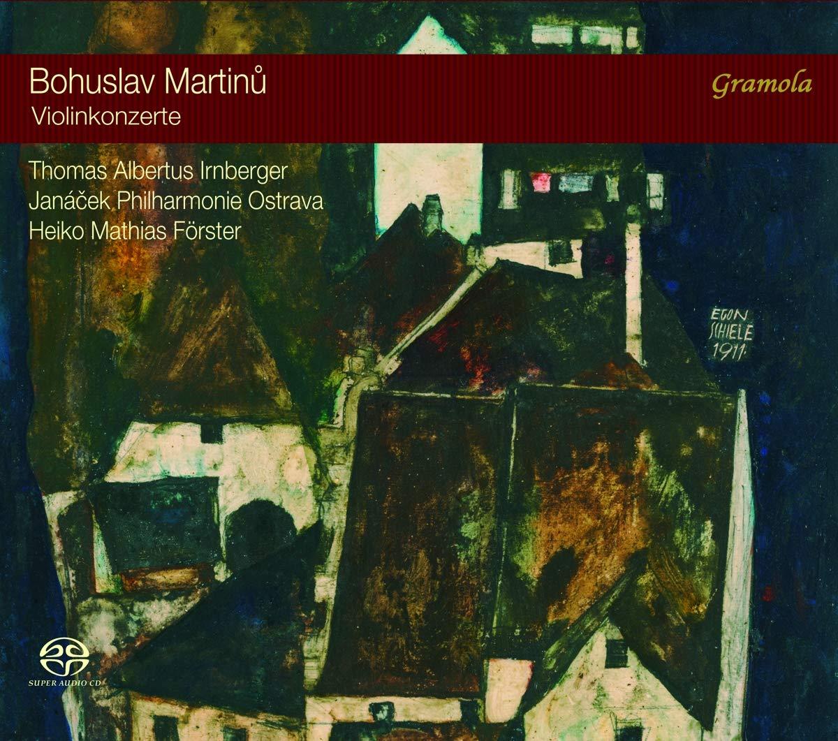 SACD : MARTINU / IRNBERGER - Violin Concertos 1 & 2 (Hybrid SACD)