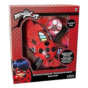 Nice 52003 – Miraculous – Ladybug pulsera amuleto Maquillaje