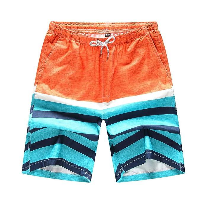 ed625130ee388 Zixing Xxx De Shorts Hombre Trajes Rápido Cortos Ropa Calzoncillos Bañador  Pantalones Surf Secado Amazon Baño ...
