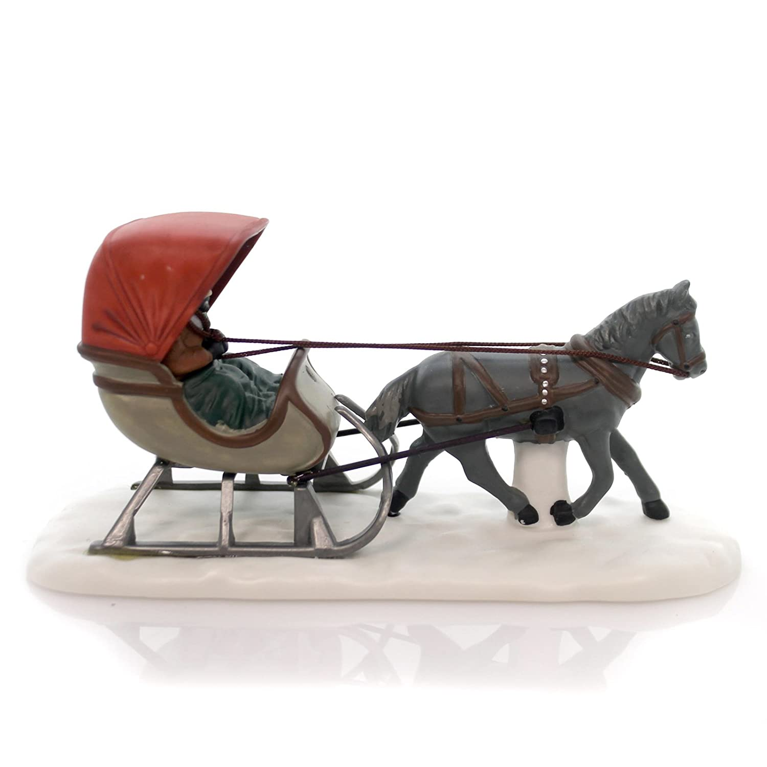 Amazoncom Department 56 Accessory One Horse Open Sleigh New