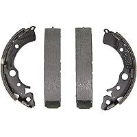 ACDelco 17630B Professional Bonded Rear Drum Brake Shoe Set