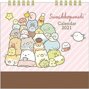 San-X SC G 2021 Calendar (Japan) Desktop CD35401 [Size] 140x180mm