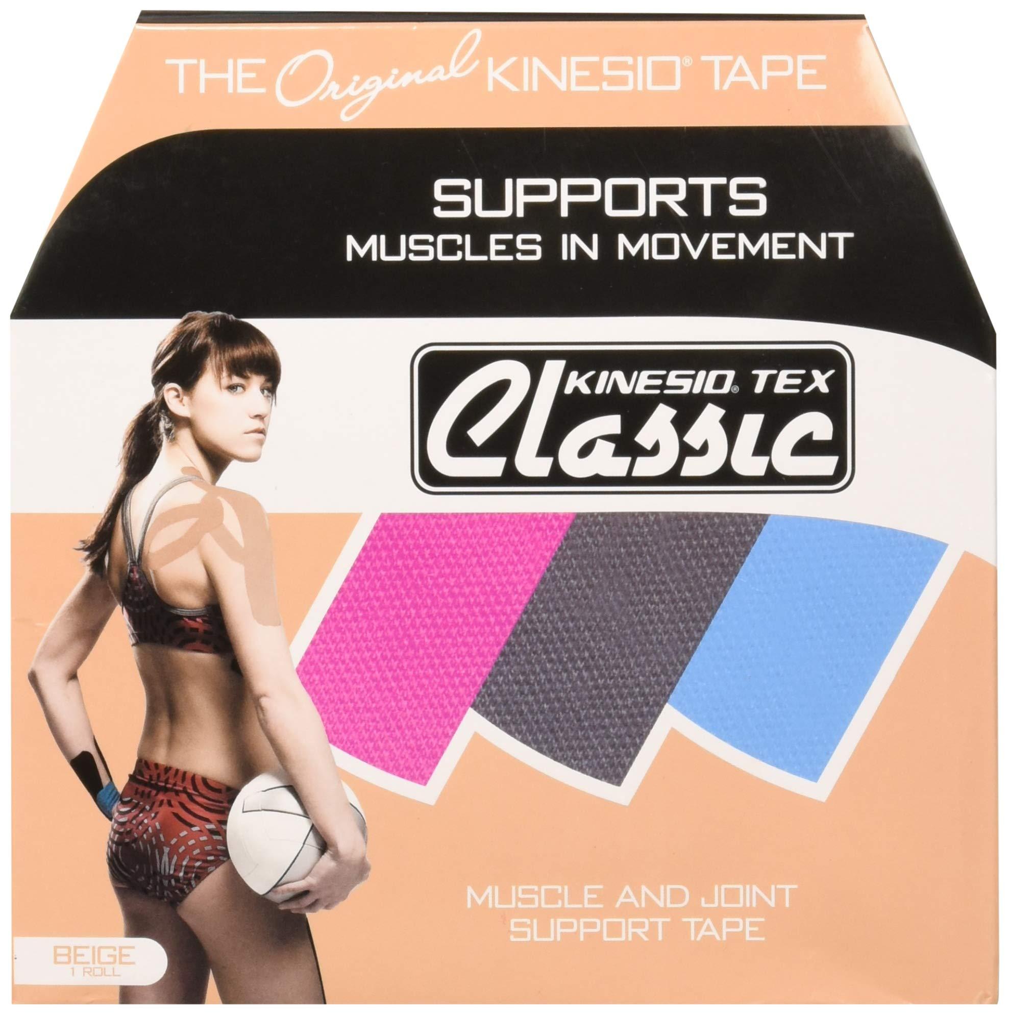 Kinesio Tex Classic Tape 2'' x 33.5 yd (103')-Beige by Kinesio