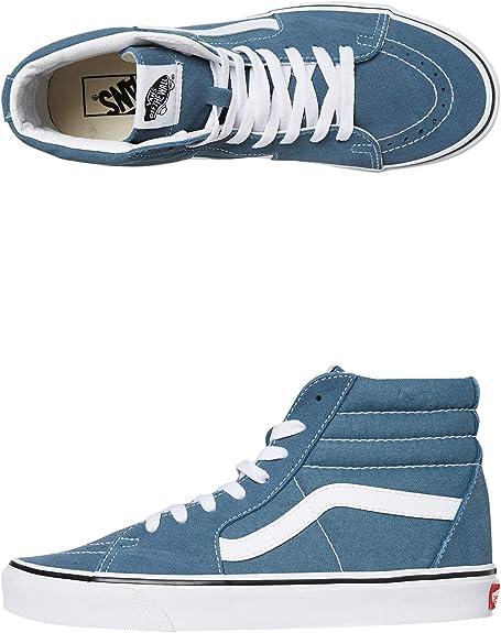 Vans SK8-HI Sneakers Uomini Blu - 37 - Sneakers Alte: Amazon.it: Scarpe e  borse