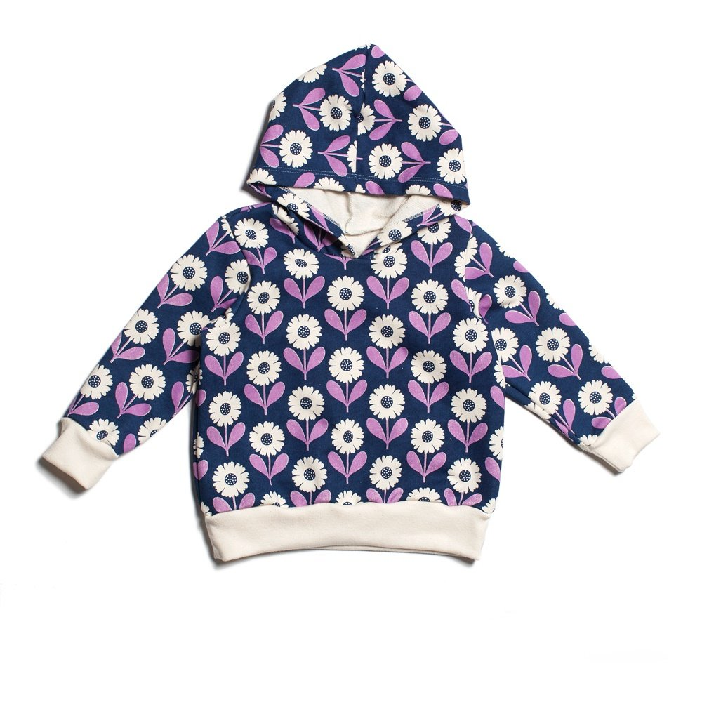Amazon.com Winter Water Factory Organic Long-Sleeve Hoodie 4T Daisies Navy u0026 Lavender Clothing  sc 1 st  Amazon.com & Amazon.com: Winter Water Factory Organic Long-Sleeve Hoodie 4T ...